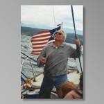 Flathead Lake, Montana 2000, sailing Q boat